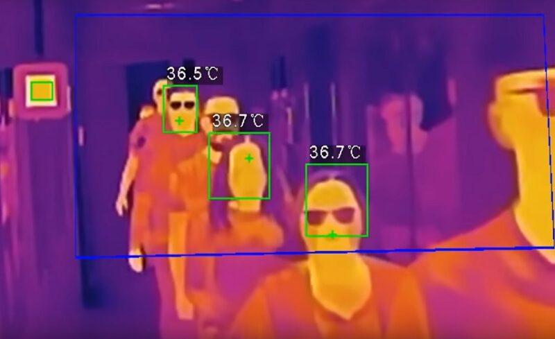 thermal imaging cctv