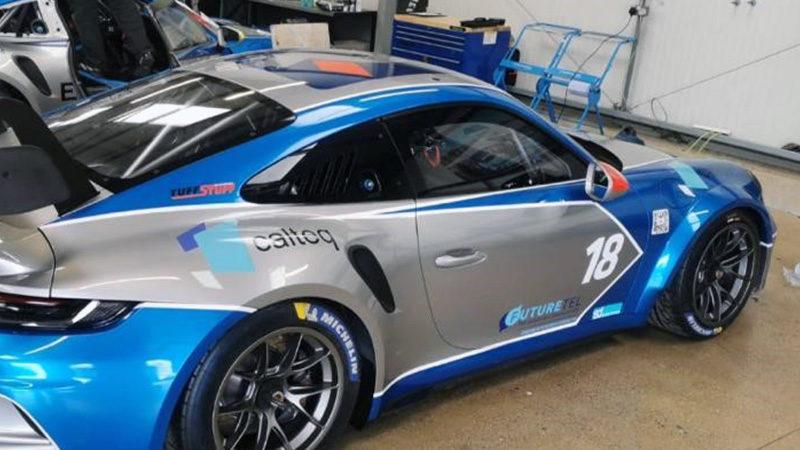 Josh Webster Porsche Cup Racing Team