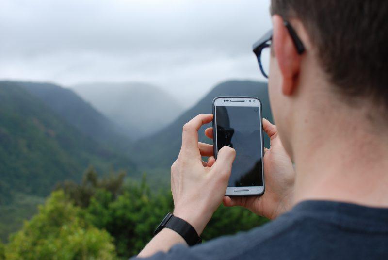 Phone in nature